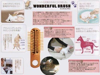 画像1: 竹ピン【ワンダフルブラシ】